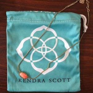 Kendra Scott Elsa Necklace, Coral